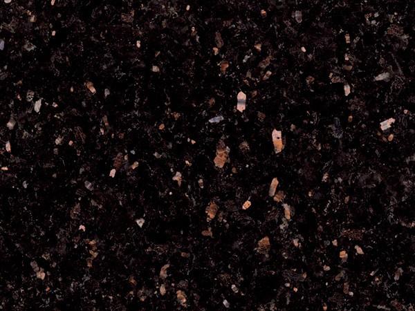 Black Galaxy Granite, 49.95 psf Installed.