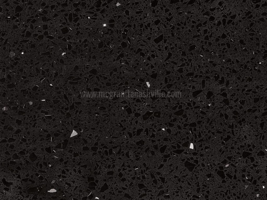 Sparkling Black Quartz