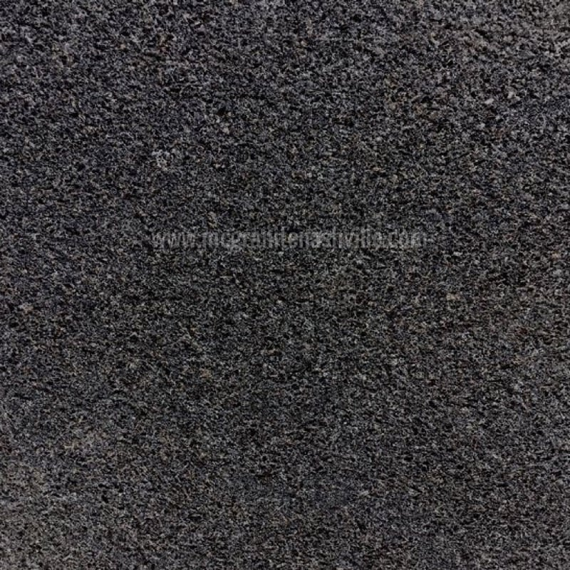 Absolute Black Leather Granite