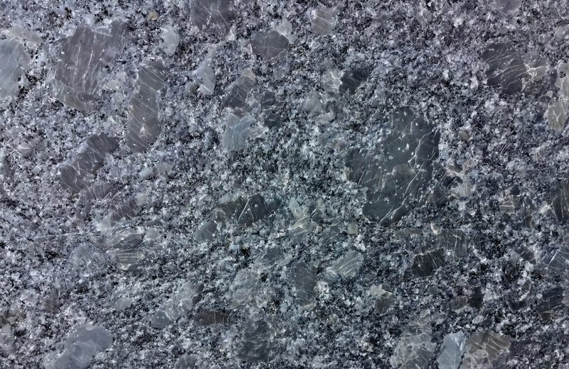 Steal Gray Leather Granite